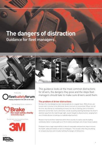 The dangers of distraction - Fleet News