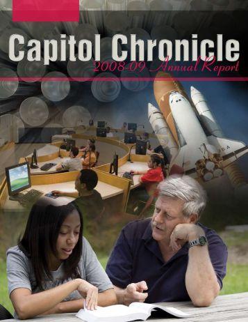 2008-09 Annual Report - Capitol College