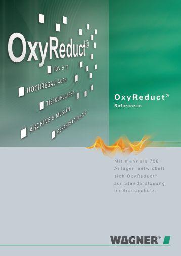 OxyReduct® Referenzen