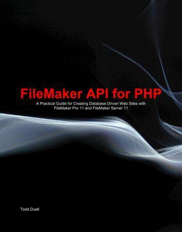 FileMaker API for PHP - Formulations Pro