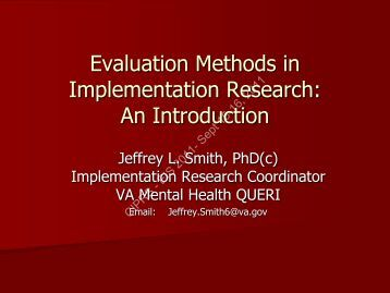 evaluation of differential research methods Research methods in human development  comparingbasic and applied research 7 evaluation research 8  semantic differential scales 110.