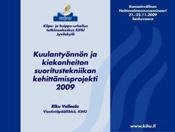 pdf - Kilpa- ja huippu-urheilun tutkimuskeskus