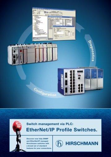 EtherNet/IP Profile Switches by Hirschmann. - Kassex