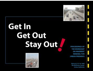 proceedings of the workshop on pavement - FHWA Operations ...