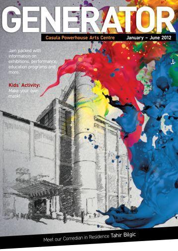Vol. 1 January to June 2012 - Casula Powerhouse