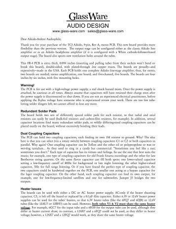 Aikido 9-pin Mono Re.. - Tube CAD Journal