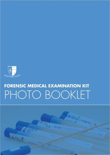 PHOTO BOOKLET - Victorian Institute of Forensic Medicine