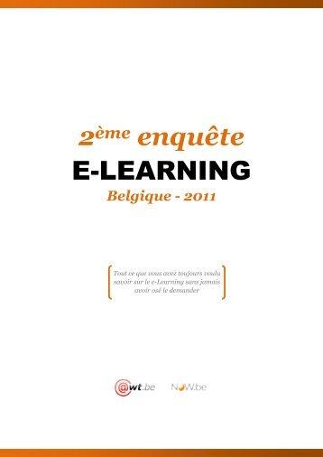 Enquête e-learning 2011 - Awt