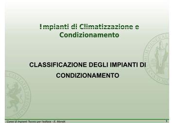 Impianti di Climatizzazione e Impianti di Climatizzazione e ...
