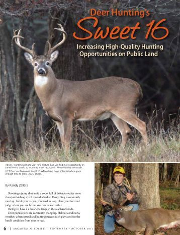 Deer Hunting's Sweet 16 - Arkansas Game and Fish Commission