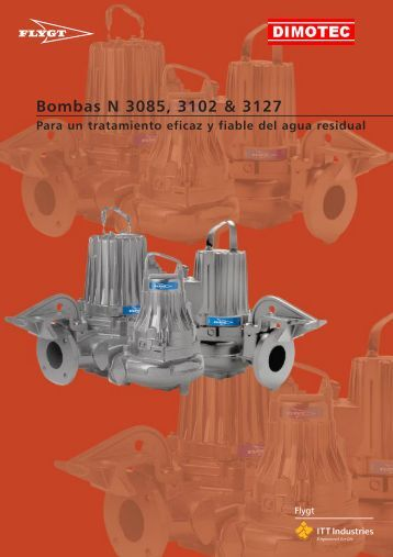 Bombas N 3085, 3102 & 3127 - Dimotec