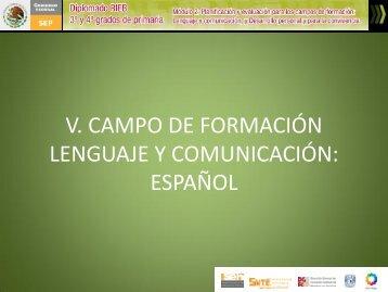 Lenguaje y Comunicación. - cuaed