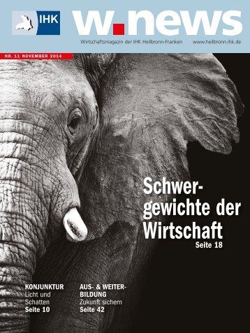 Familienunternehmen | w.news 11.2014