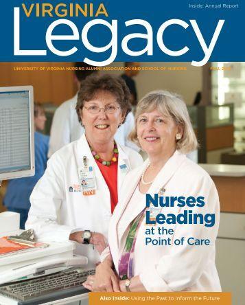Legacy 2012 Fall - School of Nursing - University of Virginia
