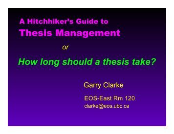PDF version of Prof. Clarke's presentation