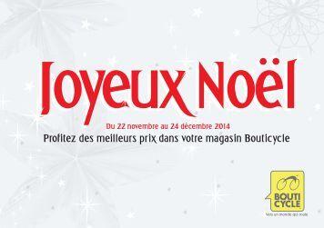 Bouticycle - Joyeux Noël 2014 !