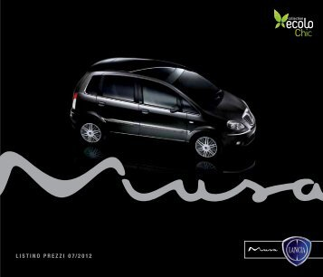 LISTINo prEZZI 07 / 2012 - Fiat Group Automobiles Press