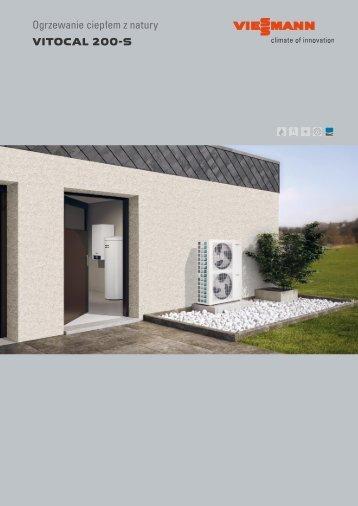 ogrzewanie ciep em z natury vitocal 200 s viessmann. Black Bedroom Furniture Sets. Home Design Ideas