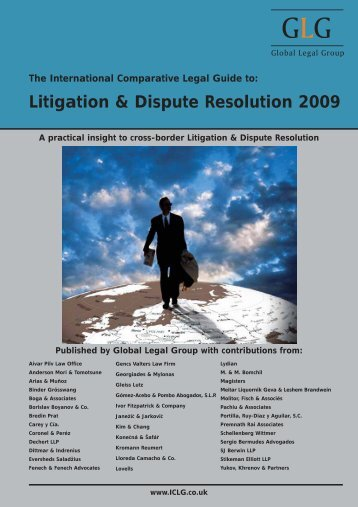 Litigation & Dispute Resolution 2009 - Best Lawyers