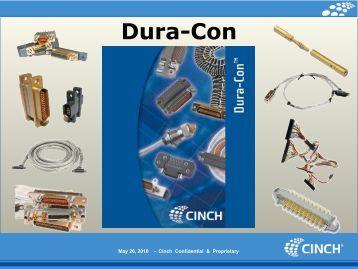 Dura-Con - Cinch Connectors