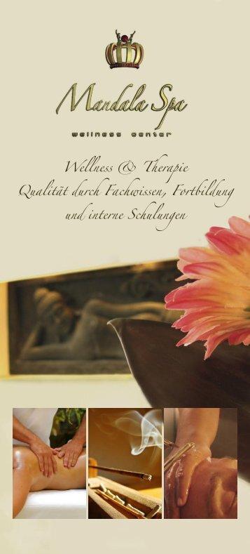 Wellness & Therapie Qualität durch Fachwissen, Fortbildung und ...