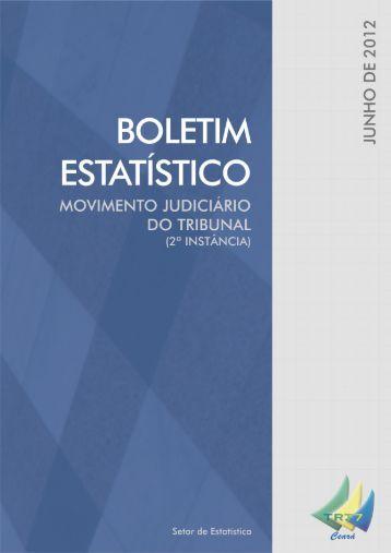 Relatório e-Gestão 06/2012