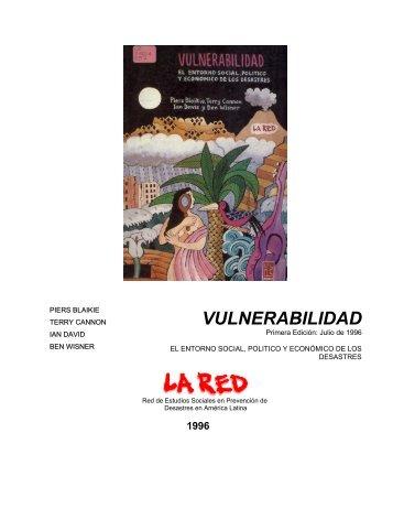 HAMBRUNA Y DESASTRES NATURALES - La RED
