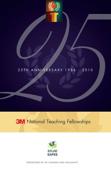 National Teaching Fellowships - STLHE
