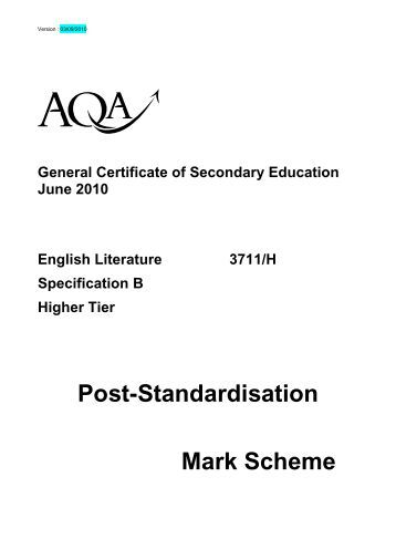 a2 english literature coursework mark scheme 首页 论坛 时尚 aqa a2 english language and literature b coursework – 358157 该话题包含 0 回复,有 1 参与者,并且由 ligesropersa 于 3 周, 6 天 前.