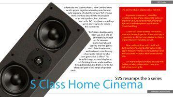 S Class Home Cinema - HIFI Bargain