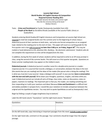 Literary Analysis Essay Examples