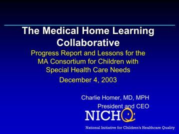 The Medical Home Learning Collaborative - New England Serve