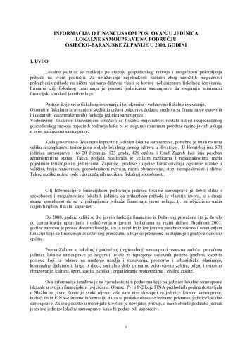 2006. - Osječko baranjska županija