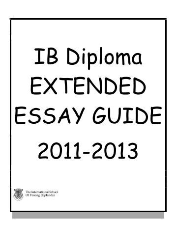 ib extended essay submission deadline 2013 Information on the submission deadline for the extended essay -- part of the international baccalaureate® diploma programme.