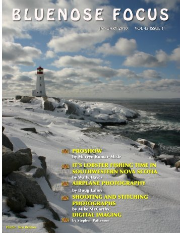 January 2010 - Photographic Guild of Nova Scotia