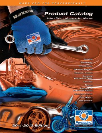 Permatex Product Catalog - Connolly Sales & Marketing