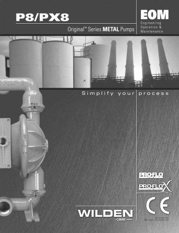 P8-PX8 Engineering Operation and Maintenance Manual