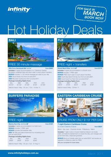 Hawaii holiday deals flight centre