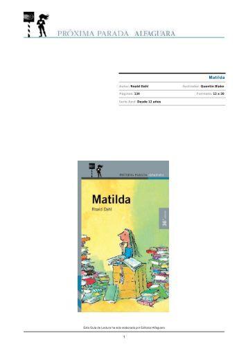 Matilda - Alfaguara