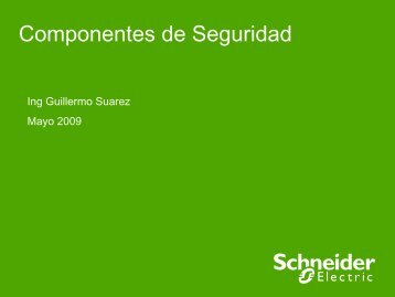 Componentes de Seguridad Safety - Schneider Electric