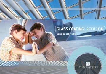 GLASS COATING: APOLLON - Leybold Optics GmbH