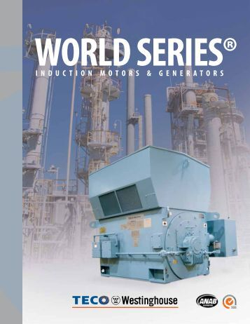 World Series Brochure - TECO-Westinghouse Motor Company