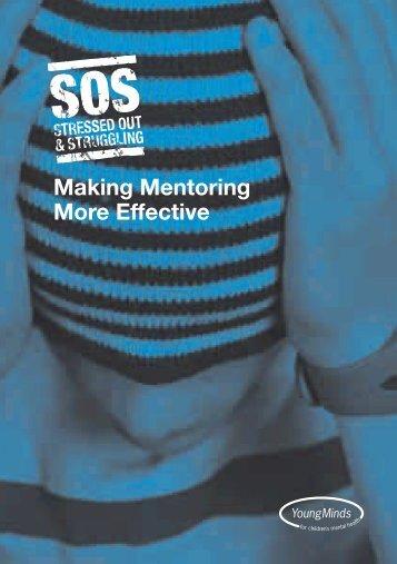 Making Mentoring More Effective - Scottish Mentoring Network