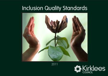 Inclusion Quality Standards