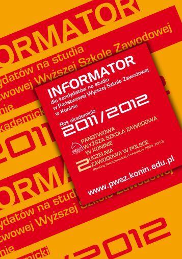INFORMATOR INFORMATOR - Edutargi.pl