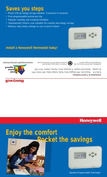 50-8568 - T8000 Standard Programmable Thermostat