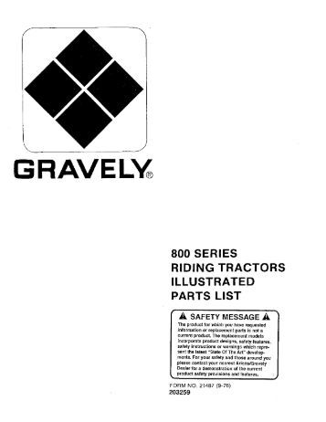 810 812 814 Illustrated Parts List (Oct 15, 1973