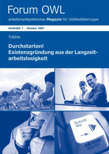 Existenzgründung aus der Langzeit - Jobcenter im Kreis Paderborn