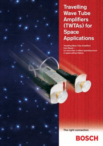Travelling Wave Tube Amplifiers (TWTAs) for Space Applications