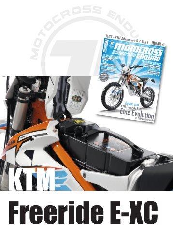 Test - KTM Freeride E-XC / 2015